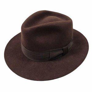 Indiana Jones Mens Fedora Hat Wool